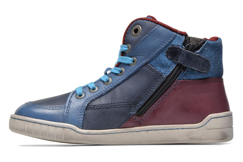 Sneaker Kickers Wincut blau ansicht von vorne