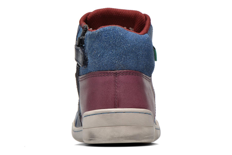 Sneaker Kickers Wincut blau ansicht von rechts