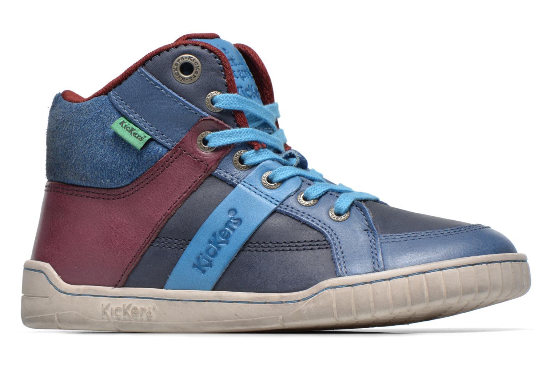 Sneaker Kickers Wincut blau ansicht von hinten