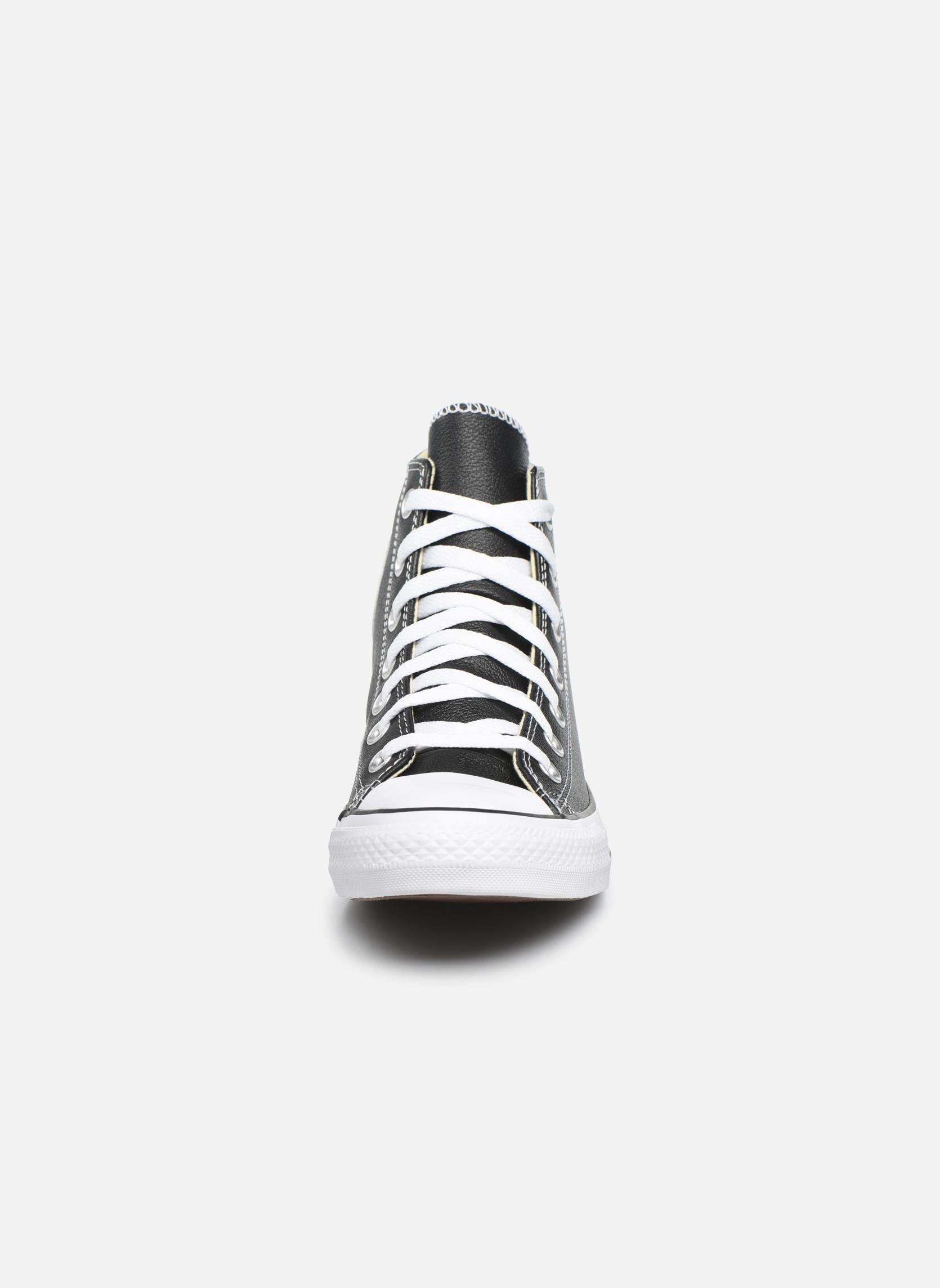Zapatos promocionales Converse Chuck Taylor All Star Leather Hi W (Negro) - Deportivas   Cómodo y bien parecido