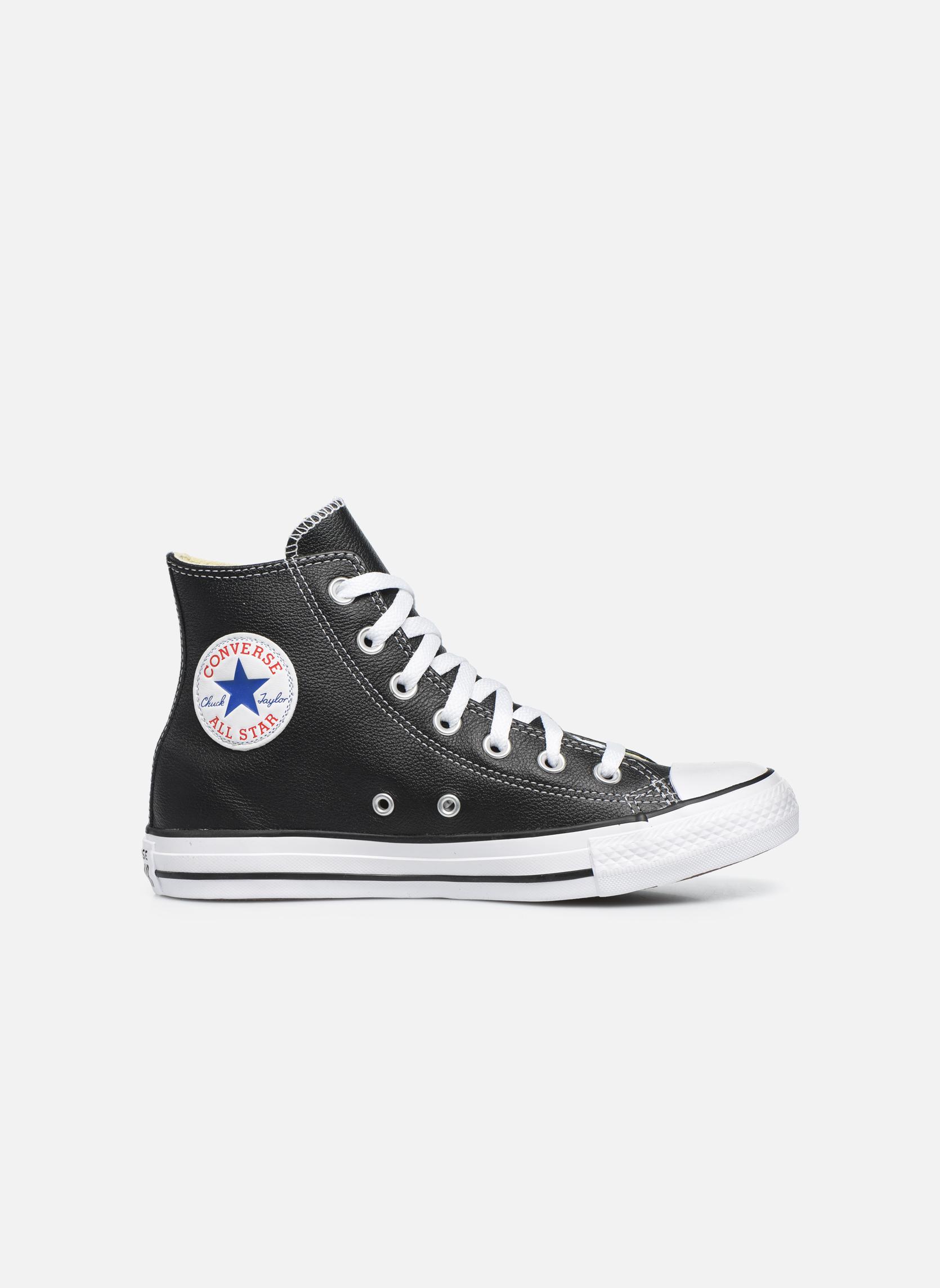 Deportivas Converse Chuck Taylor All Star Leather Hi W Negro vistra trasera