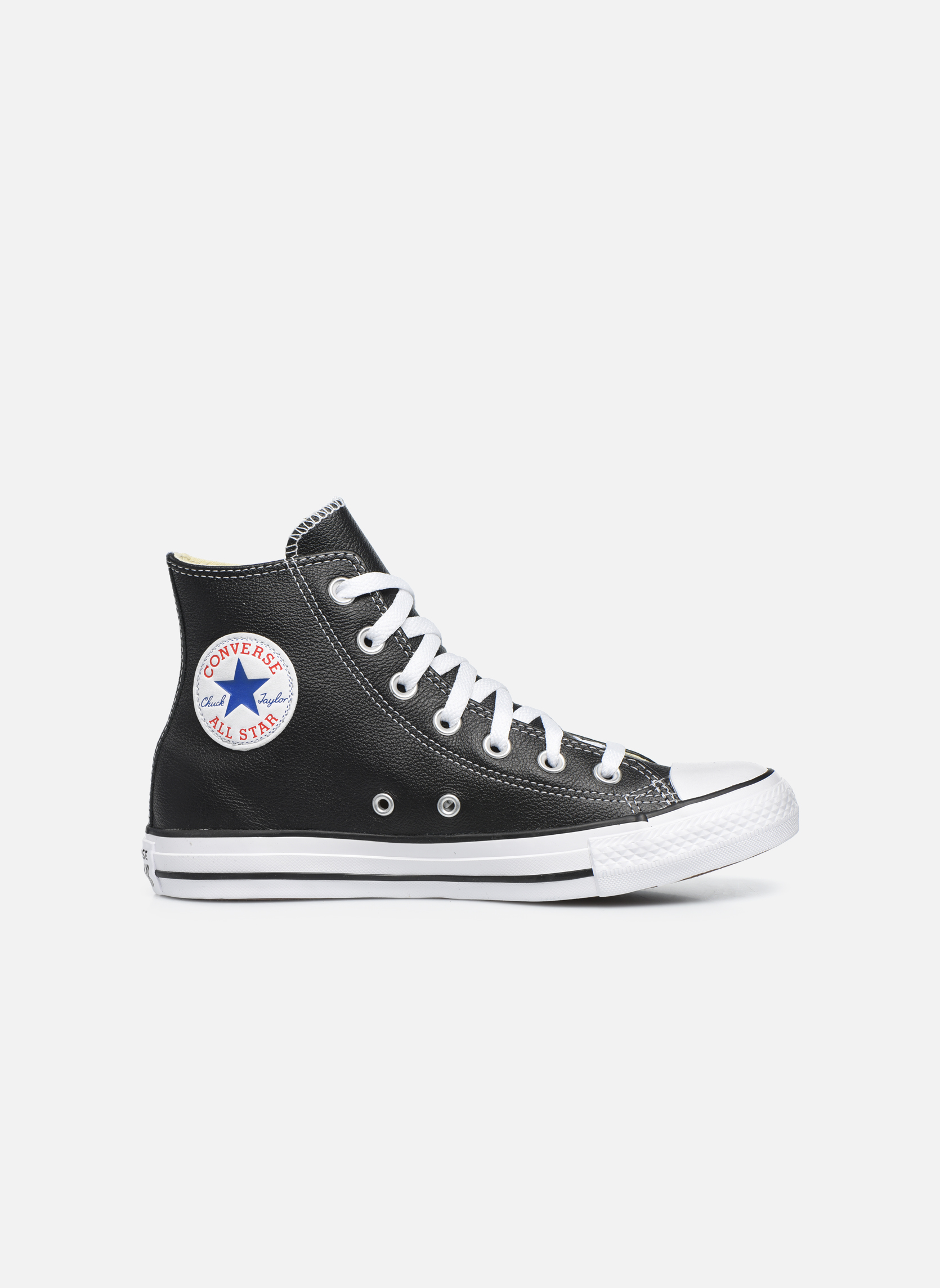 Sneakers Converse Chuck Taylor All Star Leather Hi W Nero immagine posteriore