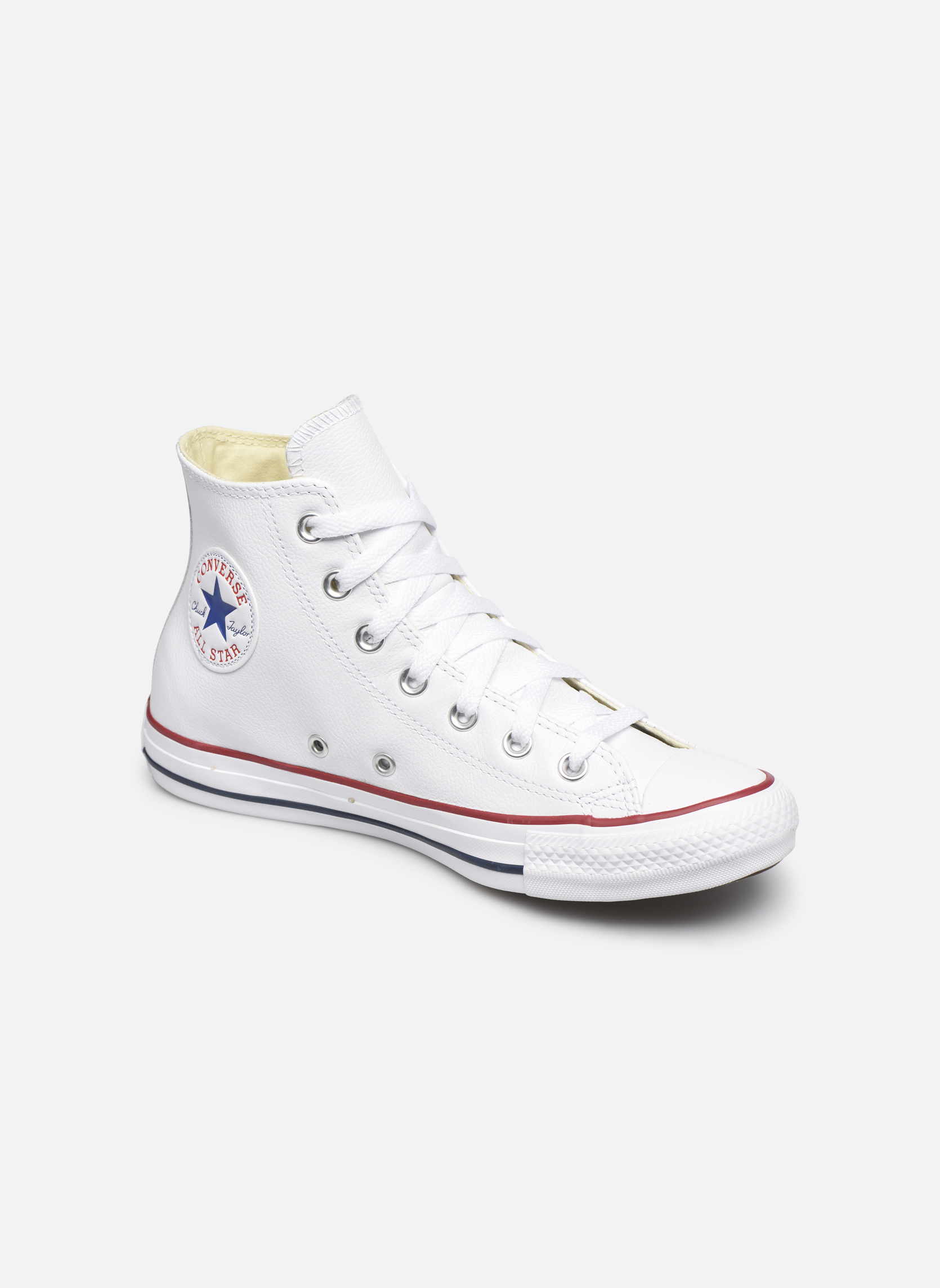 Baskets Femme Chuck Taylor All Star Leather Hi W