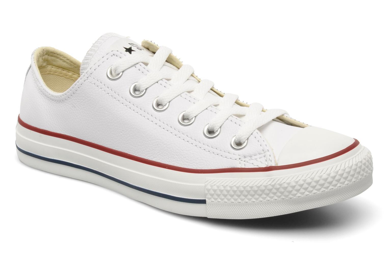Liquidación de temporada Converse Chuck Taylor All Star Leather Ox W (Blanco) - Deportivas en Más cómodo