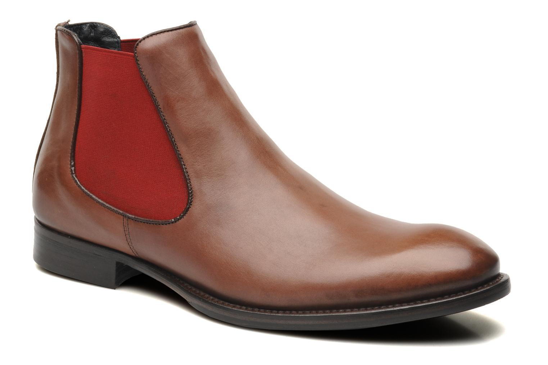 Bottines et boots Marvin&Co Thenou Marron vue détail/paire