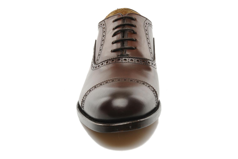 Chaussures à lacets Marvin&Co Amiral Marron vue portées chaussures