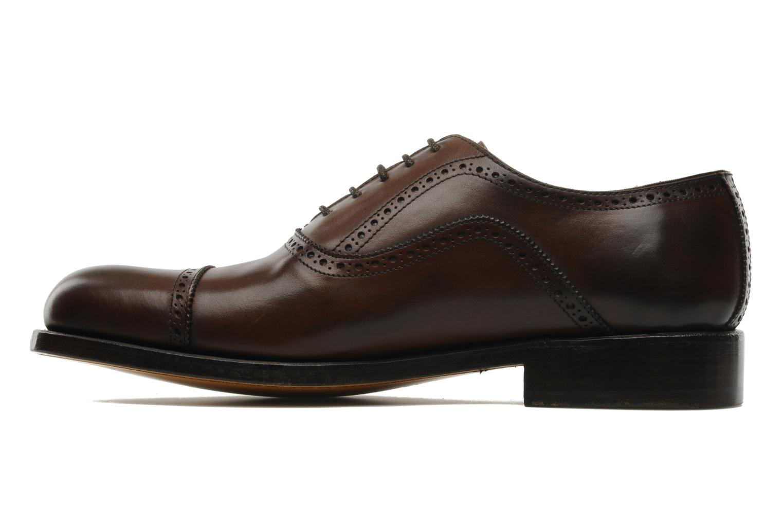 Chaussures à lacets Marvin&Co Amiral Marron vue face