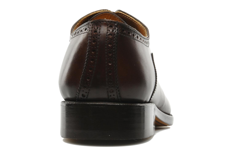 Chaussures à lacets Marvin&Co Amiral Marron vue droite