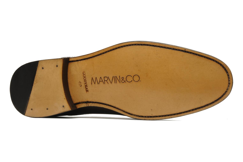 Chaussures à lacets Marvin&Co Amiral Marron vue haut