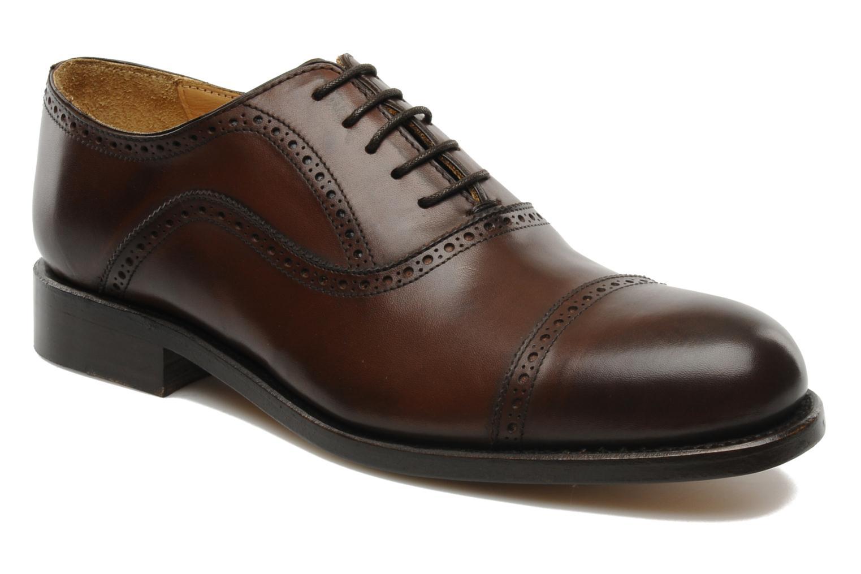 Chaussures à lacets Marvin&Co Amiral Marron vue détail/paire