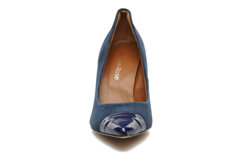 Zapatos de tacón Georgia Rose Lady Pink Azul vista del modelo