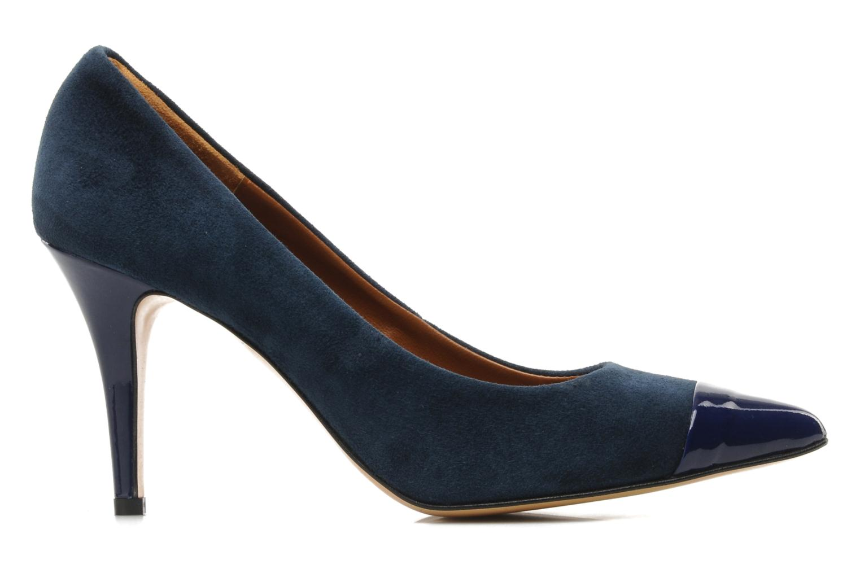 Zapatos de tacón Georgia Rose Lady Pink Azul vistra trasera