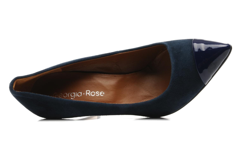 Zapatos de tacón Georgia Rose Lady Pink Azul vista lateral izquierda