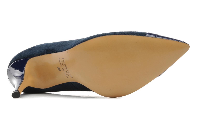 Zapatos de tacón Georgia Rose Lady Pink Azul vista de arriba