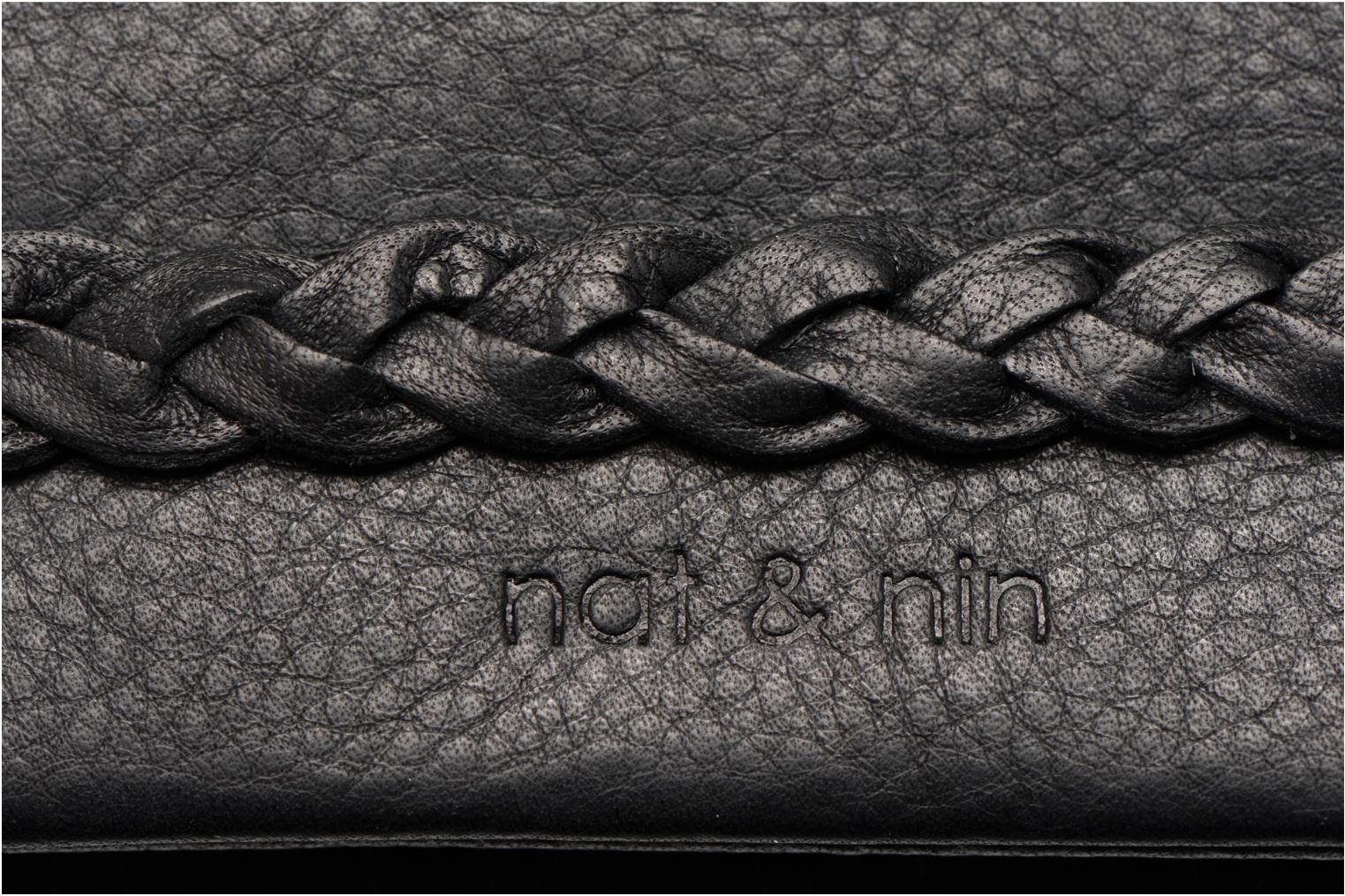 Wallets & cases Nat & Nin Lili Black view from the left