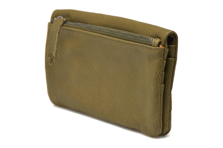 Portemonnaies & Clutches Nat & Nin Lili grün ansicht von rechts