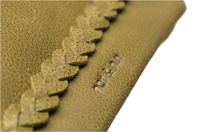 Portemonnaies & Clutches Nat & Nin Lili grün ansicht von links