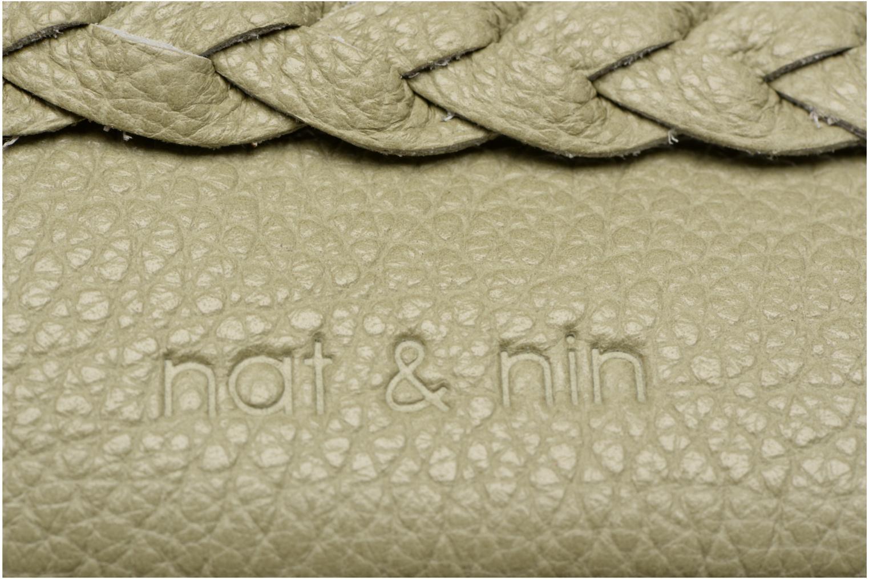 Petite Maroquinerie Nat & Nin Lili Vert vue derrière