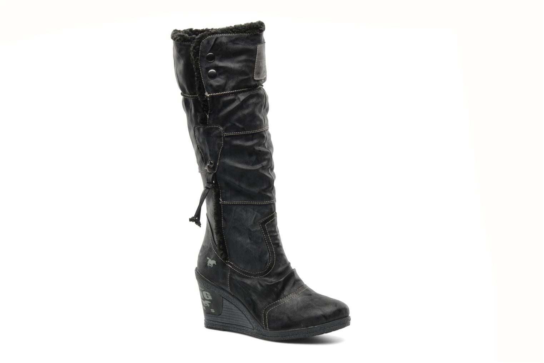 Bottes Mustang shoes Mona Gris vue détail/paire