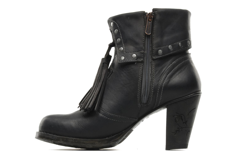 Ankle boots Neosens Parellada s344 Black front view