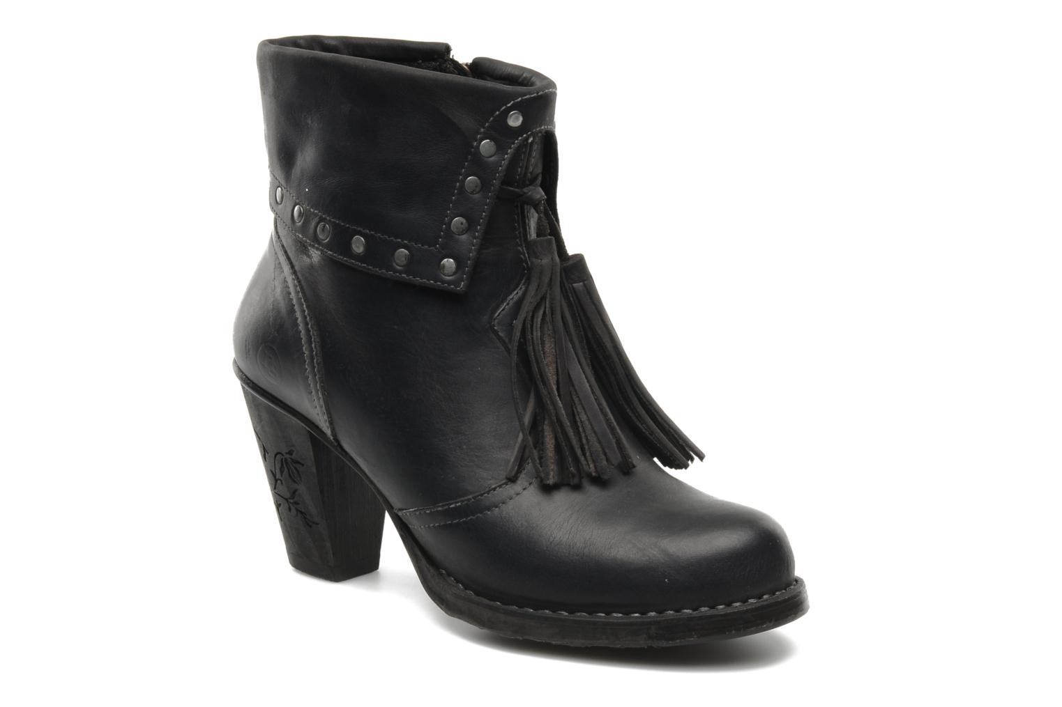 Ankle boots Neosens Parellada s344 Black detailed view/ Pair view