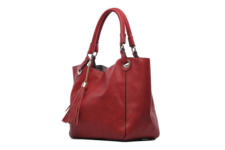 Handtaschen Georgia Rose Barnabé rot schuhe getragen