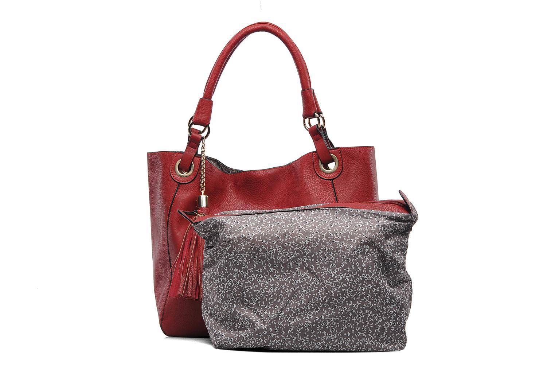 Handtaschen Georgia Rose Barnabé rot ansicht von links