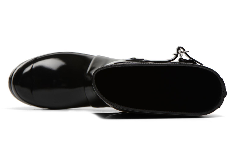 Stiefel Hunter Original Tall Gloss schwarz ansicht von links