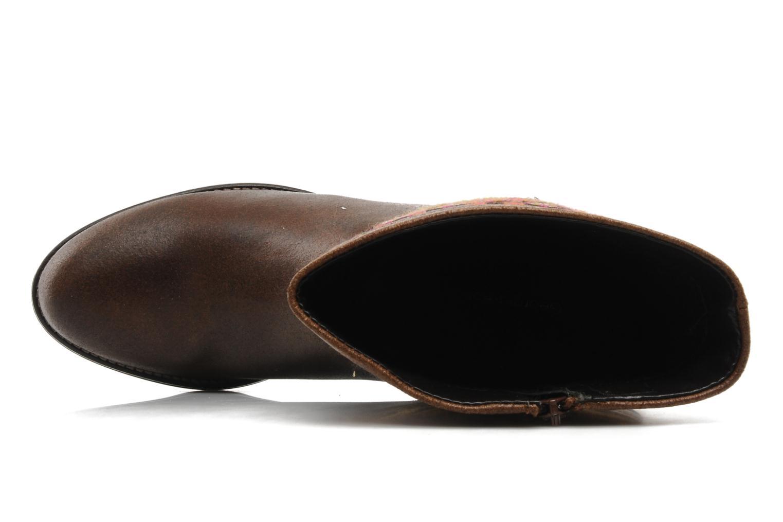 Bottines et boots Georgia Rose Gustine Marron vue gauche