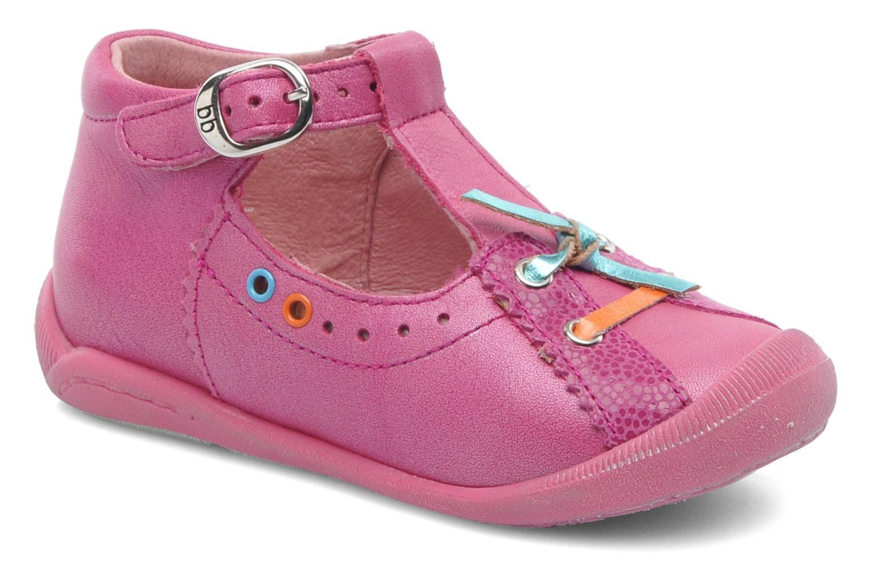 Boots en enkellaarsjes Babybotte Sybil Roze detail