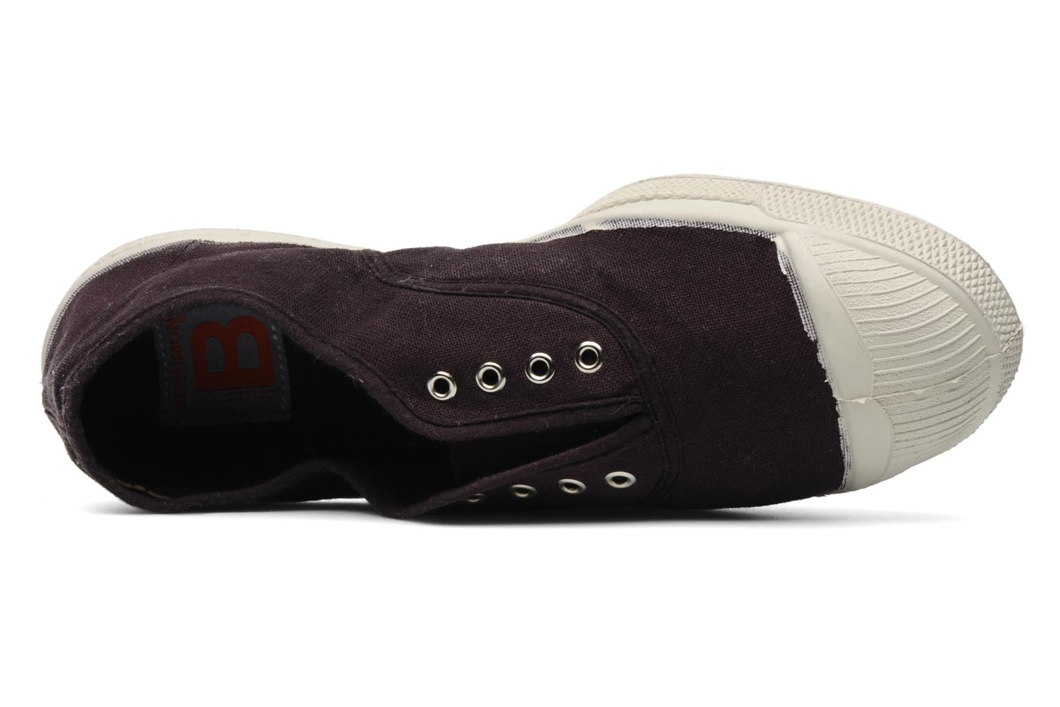 Trainers Bensimon Tennis Elly Purple view from the left