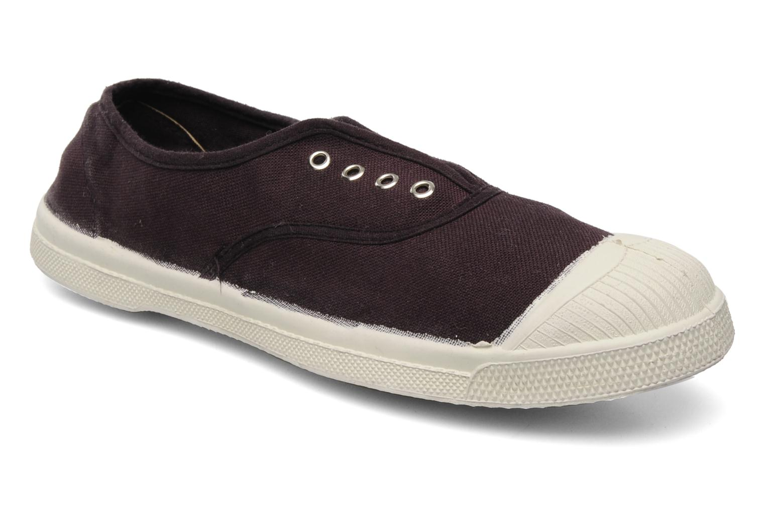 Trainers Bensimon Tennis Elly Purple detailed view/ Pair view