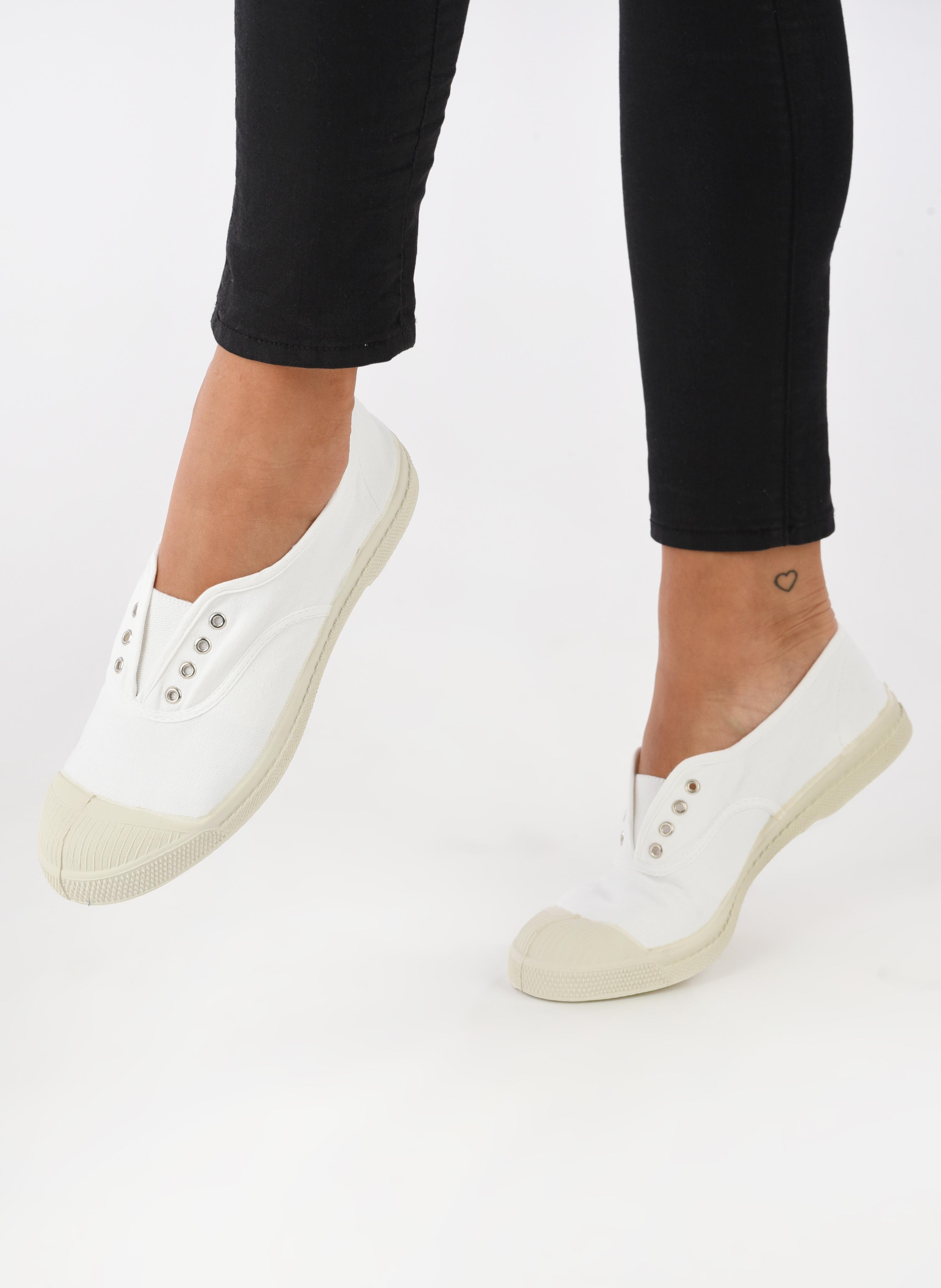 Sneakers Bensimon Tennis Elly Wit onder