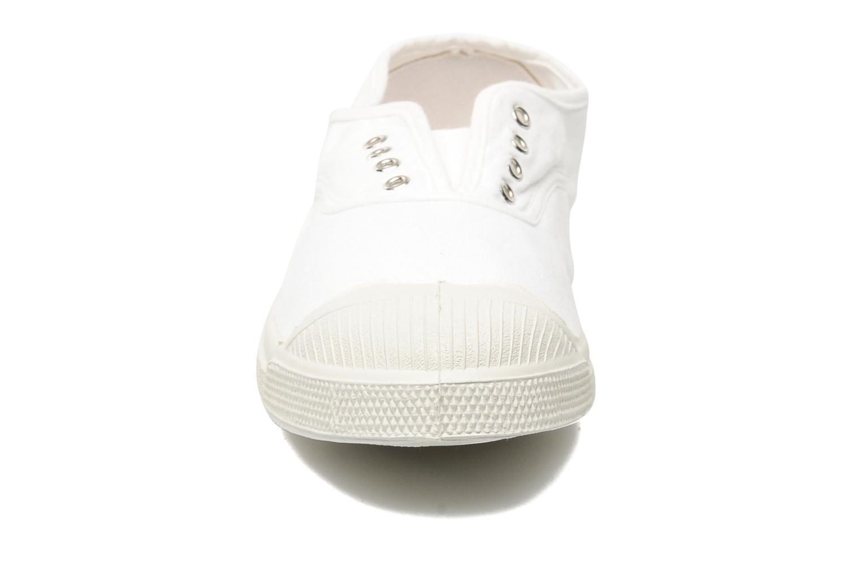 Baskets Bensimon Tennis Elly Blanc vue portées chaussures