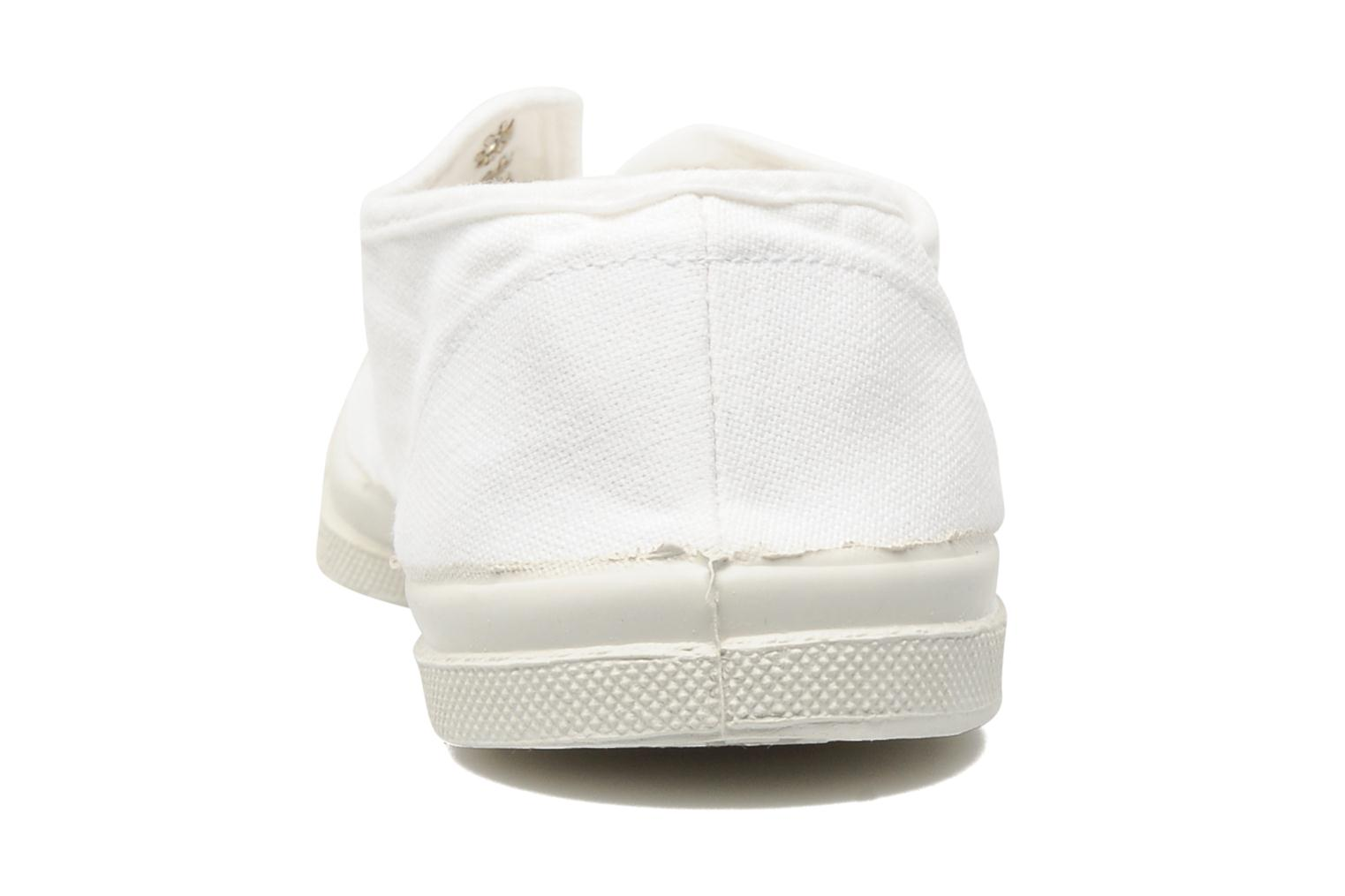 Trainers Bensimon Tennis Elly White view from the right