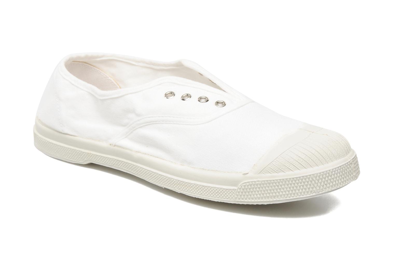 Bensimon Femmes Tennis Elastique Sneakers - Wit (blanc), Maat: 39