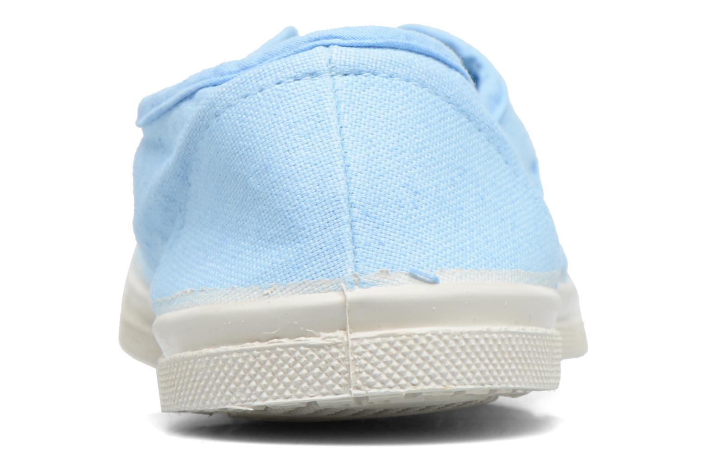 Baskets Bensimon Tennis Elly Bleu vue droite