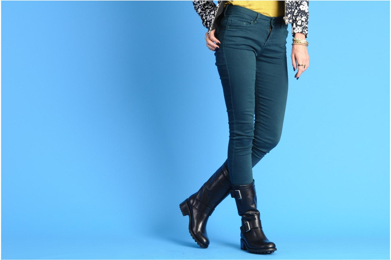 Bottines et boots Free Lance Biker 4 Mid Strap Noir vue bas / vue portée sac