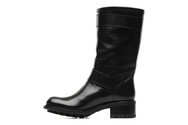 Bottines et boots Free Lance Biker 4 Mid Strap Noir vue face