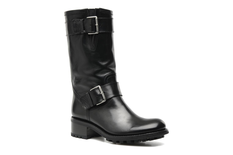 Bottines et boots Free Lance Biker 4 Mid Strap Noir vue détail/paire