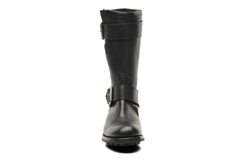 Bottines et boots Free Lance Biker 4 Mid Strap Noir vue portées chaussures