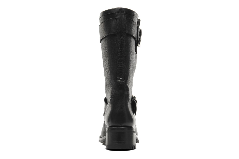 Bottines et boots Free Lance Biker 4 Mid Strap Noir vue droite