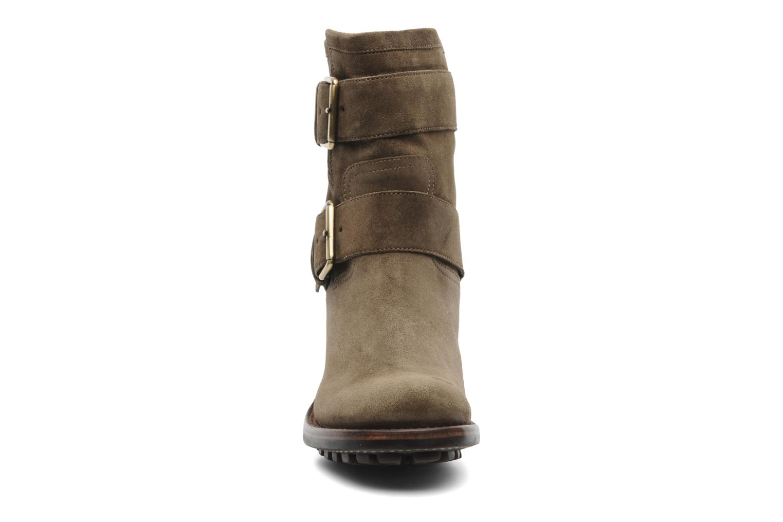 Bottines et boots Free Lance Biker 7 Mini Strap Vert vue portées chaussures