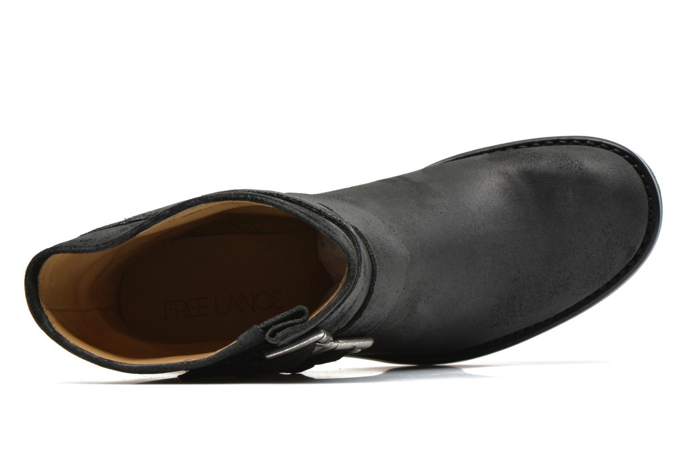 Boots en enkellaarsjes Free Lance Biker 7 Mini Strap Zwart links