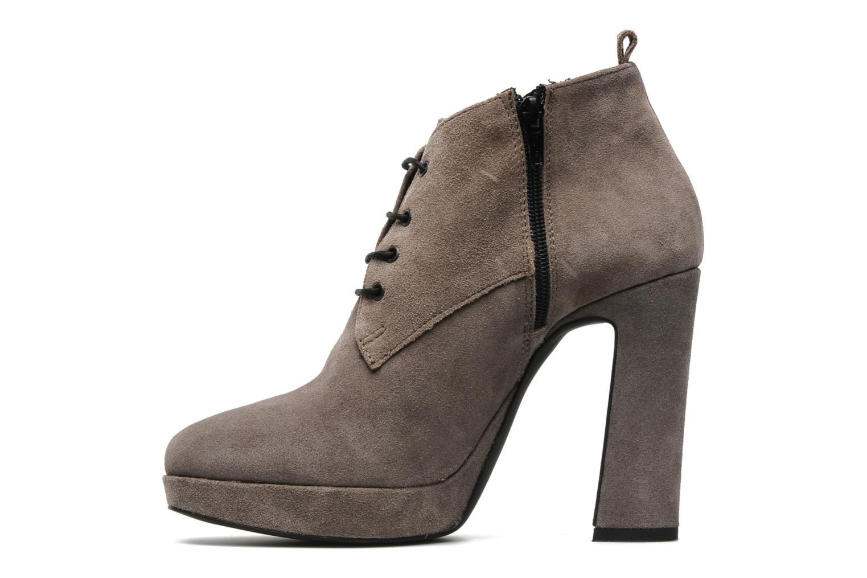 Boots en enkellaarsjes Georgia Rose Nuts Grijs voorkant