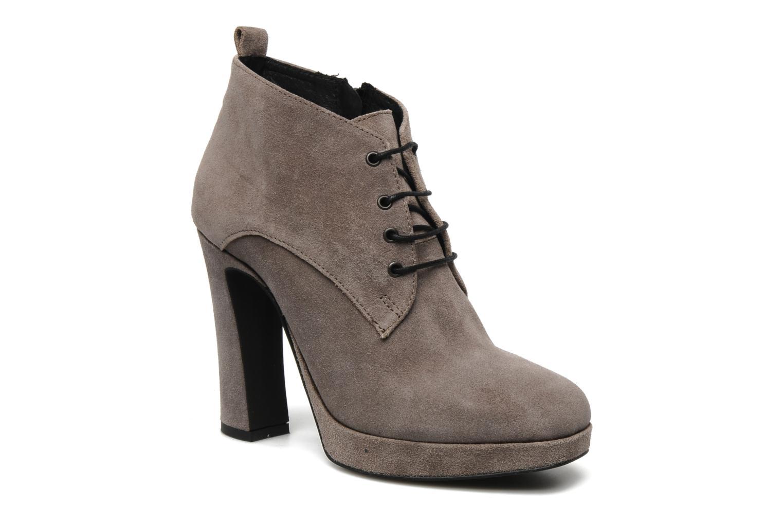 Bottines et boots Georgia Rose Nuts Gris vue détail/paire