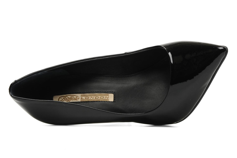Zapatos de tacón Buffalo Beyza Negro vista lateral izquierda
