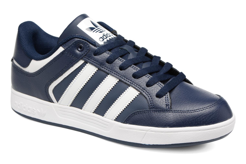 Baskets Adidas Originals Varial Low Bleu vue détail/paire