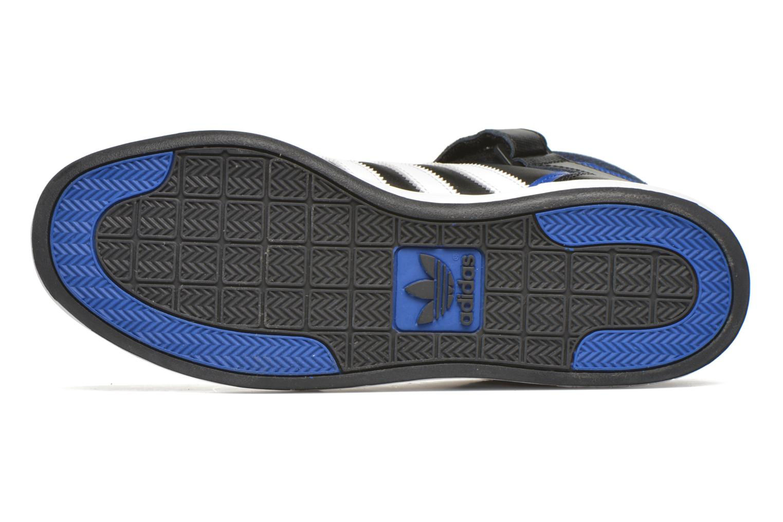 Sneaker Adidas Originals Varial Mid schwarz ansicht von oben