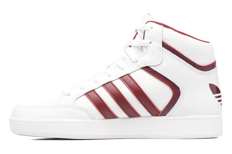 Sneaker Adidas Originals Varial Mid weiß ansicht von vorne
